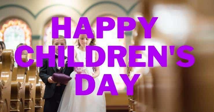 Happy children's day ( Bal Diwas )